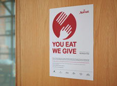 You Eat We Give